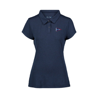 Chris Craft Ladies Coollast Lux Polo Navy