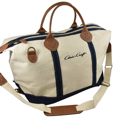 Chris Craft TRAVEL BAG, WEEKENDER NAVY TAG REMOVED