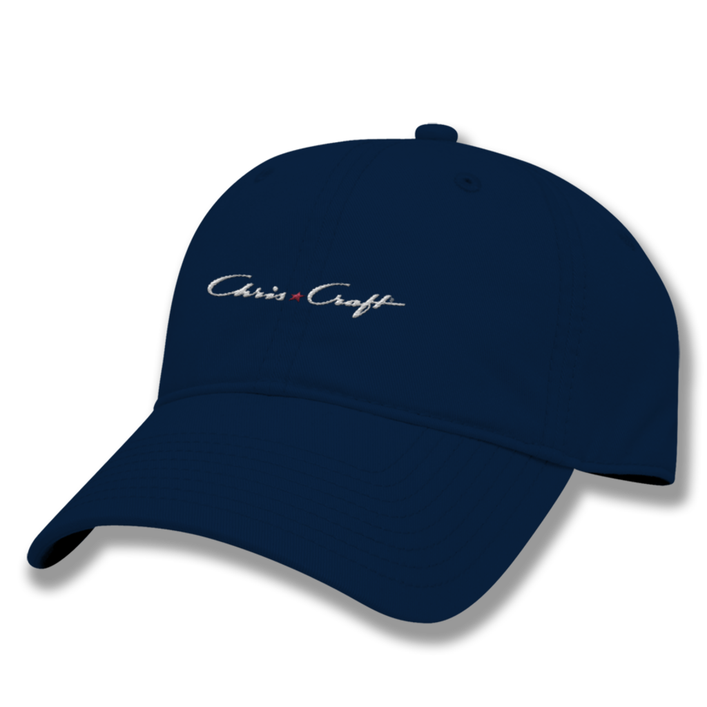 Chris-Craft Relaxed Twill Hat - Navy