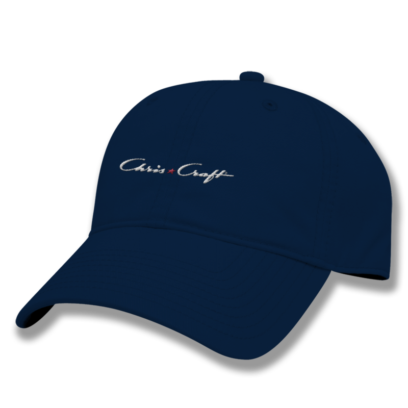 Relaxed Twill Hat - Navy