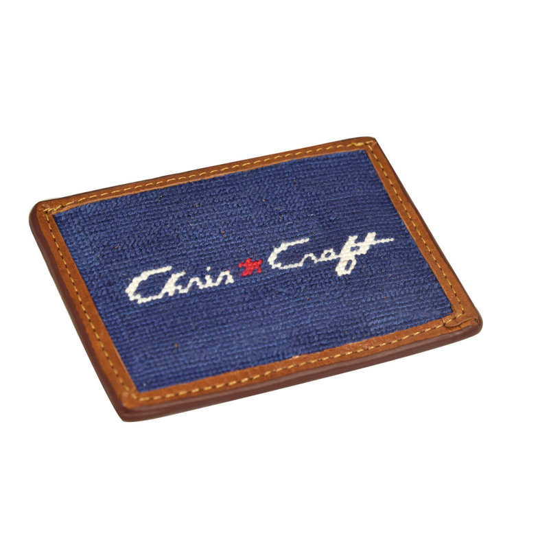 Needle Point Credit Card Wallet