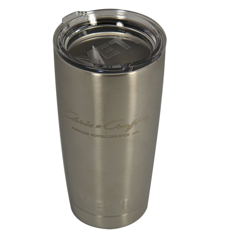 Yeti Rambler Tumbler with Magslider Lid (20oz) - Stainless Steel