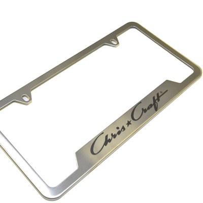 License Plate Frame - Stainless Steel