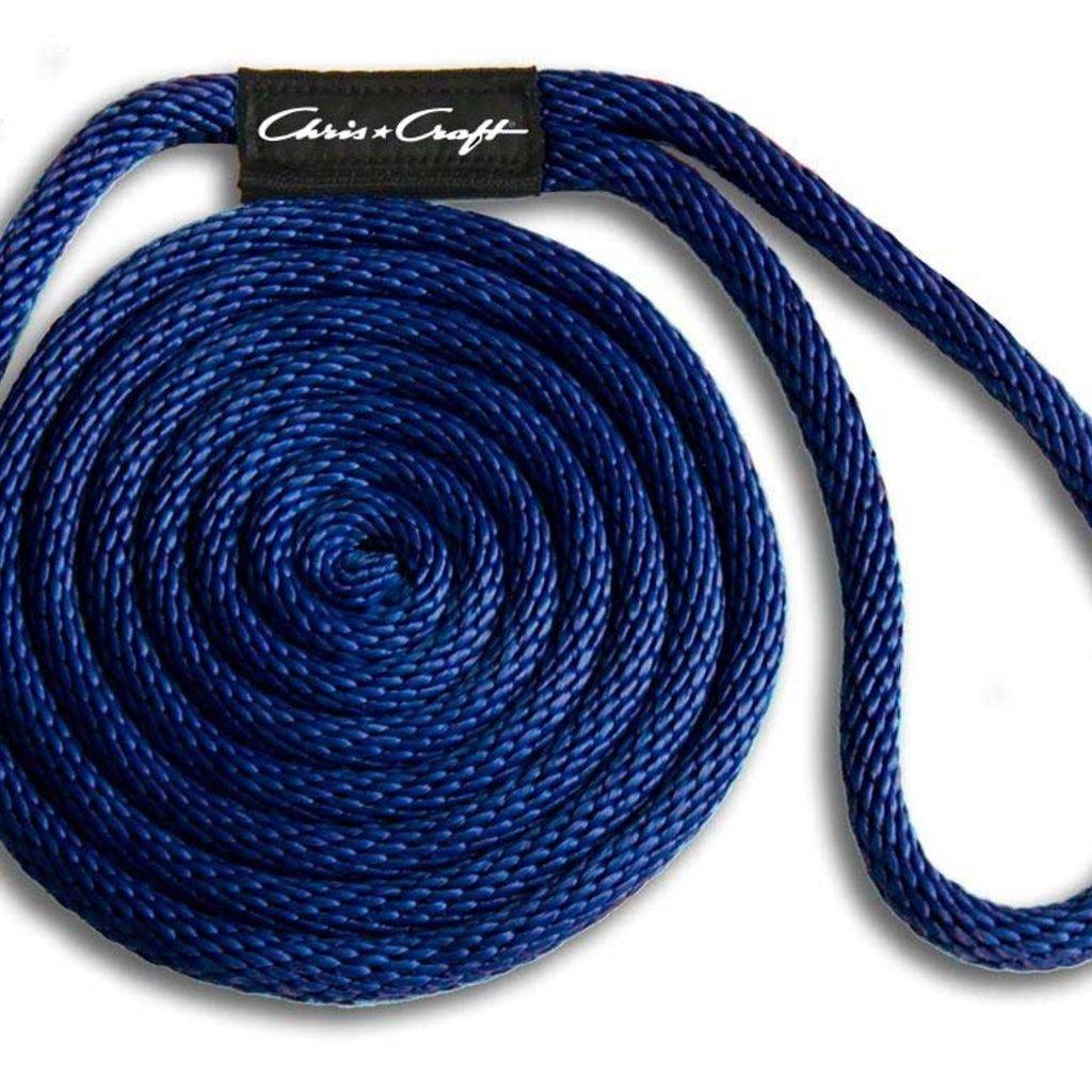 "Chris Craft DOCK LINE (BLUE) CHRIS*CRAFT 5/8""X 25' 802558-BLUE"