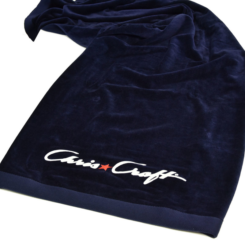 Chris Craft Chris-Craft Embroidered Beach Towel - Blue