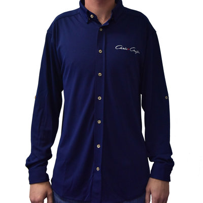 Mens Performance L/S Button Down