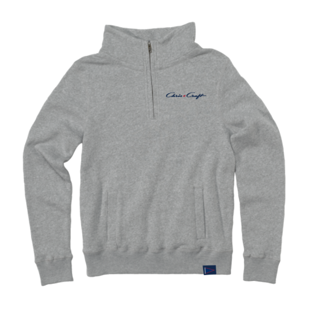 SHIRT, LADIES PULLOVER GRAY