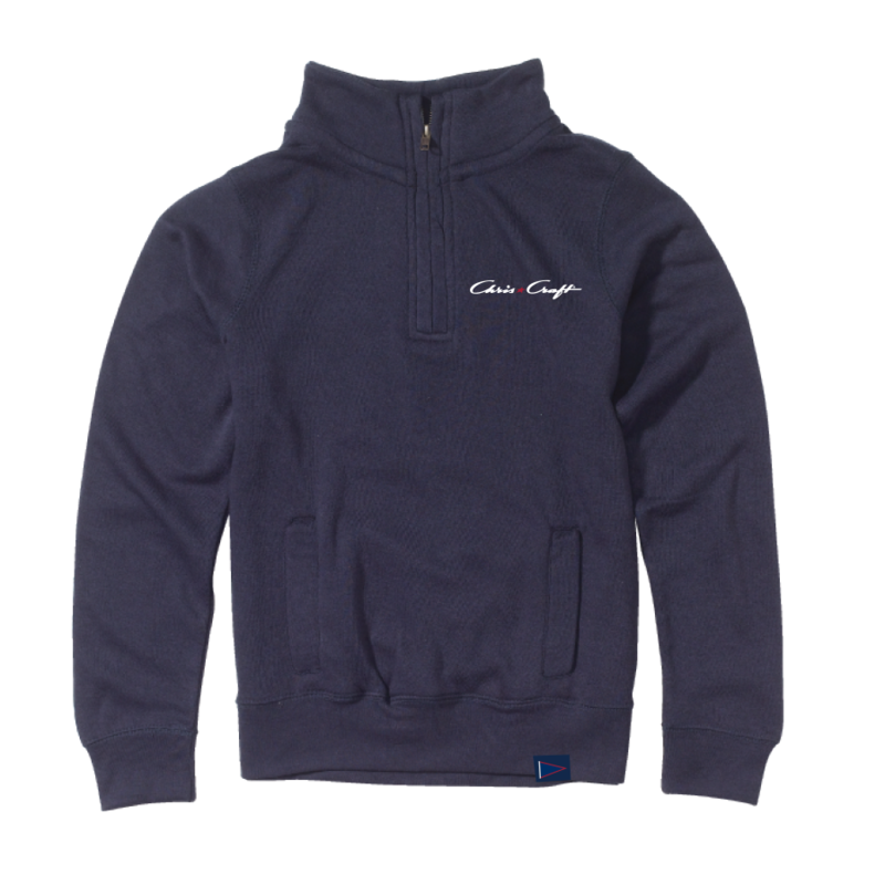 Chris Craft SHIRT, LADIES PULLOVER NAVY