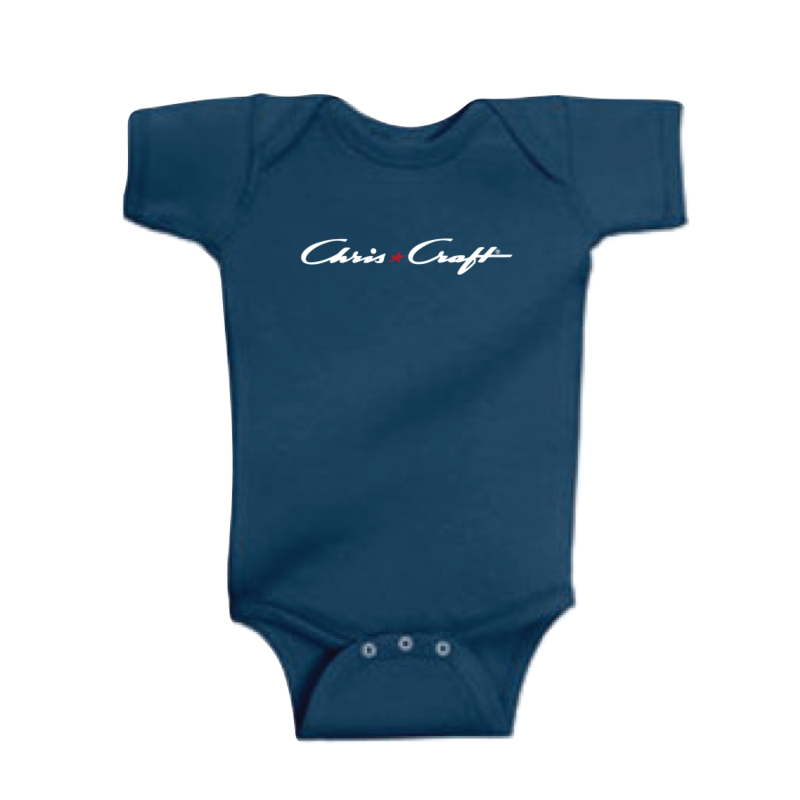 SHIRT, INFANT SNAP TEE NAVY