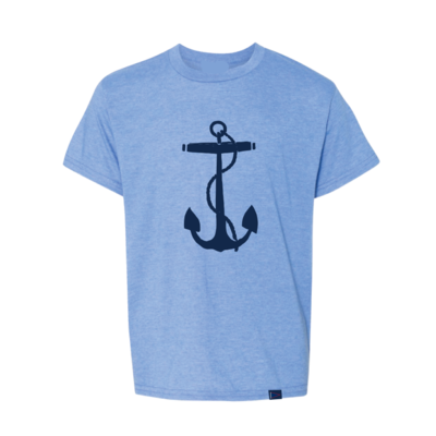 Chris Craft SHIRT, TEE YOUTH LIGHT BLUE
