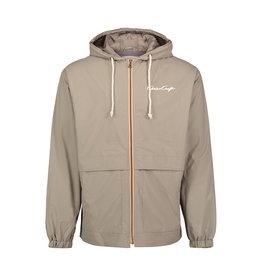 Chris Craft Weatherproof Vintage Hooded Rain Jacket Khaki