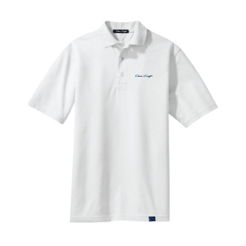 Chris Craft SHIRT, RAPID DRY POLO WHITE