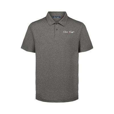 Chris Craft Mens Coollast Heather Lux Polo Heather