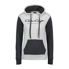Chris Craft Ladies Quilted Cloud Fleece Hoodie