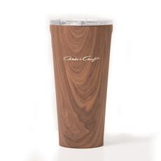 Chris Craft Corkcicle Tumbler 16 Oz. Walnut Wood