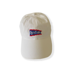 Needle Point Hat - White