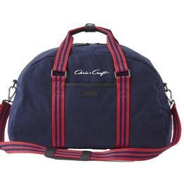 Chris Craft Sloan Gym Bag  - Red/Navy Stripe