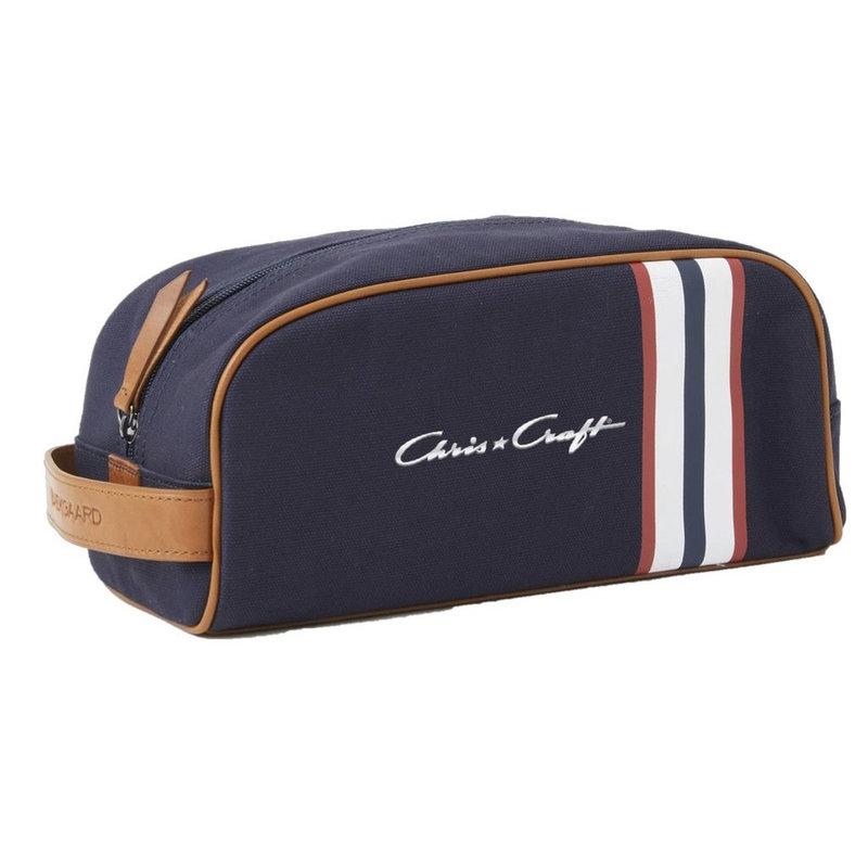 Chris Craft Dopp Kit - Red/White/Blue Stripe