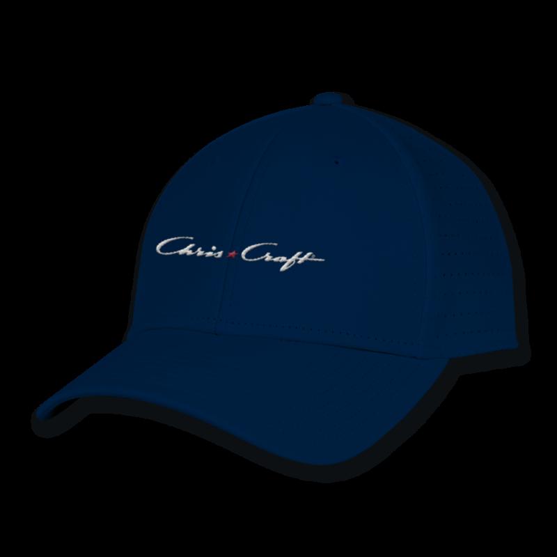 Chris Craft Ladies Perforated Gamechanger Hat - Navy
