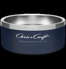 Chris Craft Yeti Boomer Dog Bowl (Small) - Navy