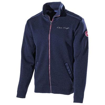 Chris Craft Gregor Full Zip WindSweater - Navy