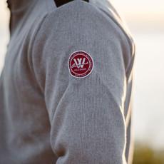 Chris Craft Gregor 1/4 Zip WindSweater - Lt. Grey