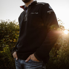Chris Craft Josh 1/4 Zip WindSweater - Navy