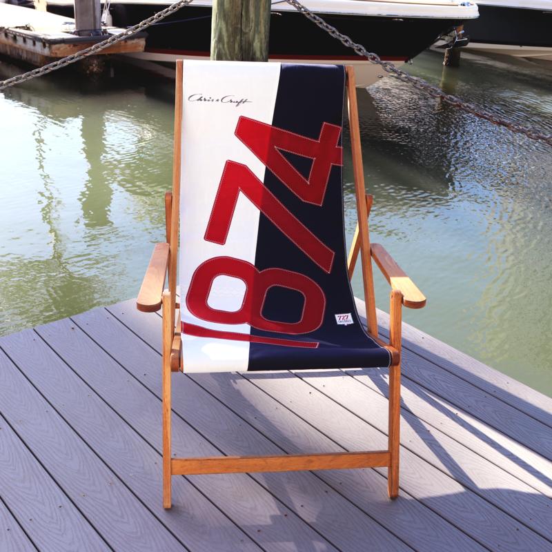 Chris Craft Deck Chair
