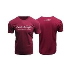 Short Sleeve Tee Classic Logo Riviera Red