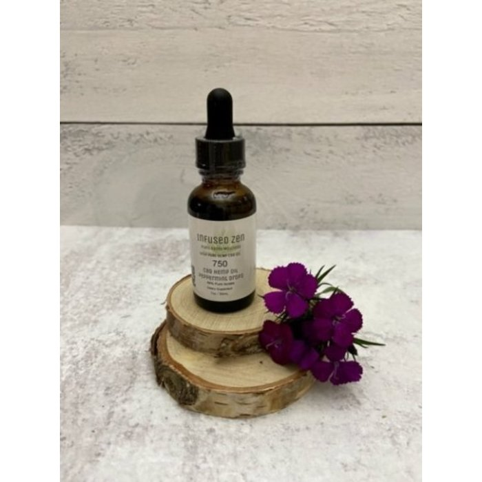 CBD 750mg Isolate Tincture Peppermint