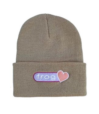 Frog Perfect Heart Beanie