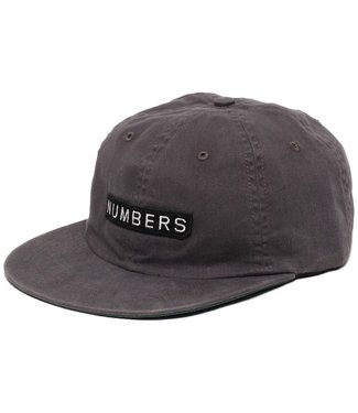 Numbers 6 panel hat