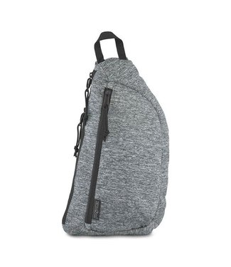 JanSport Jansport City Sling Black Woven Knit OS