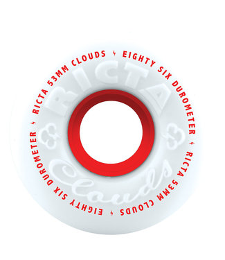 Ricta 53mm CLOUDS Red  86a Ricta