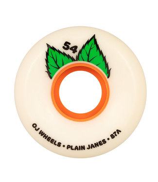 OJ 54mm Plain Jane Keyframe White  87a OJ