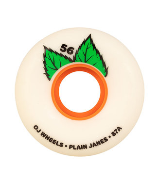 OJ OJ Plain Jane Keyframe 56mm White  87a