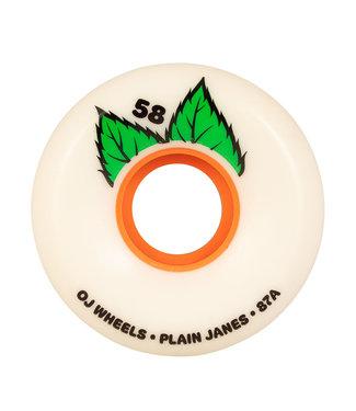 OJ 58mm Plain Jane Keyframe White  87a OJ