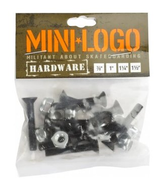 "Minilogo Mini Logo 1"" 1/4 hardware"
