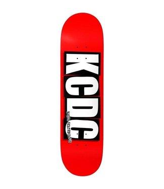 Baker Brand Logo KCDC deck Red 8