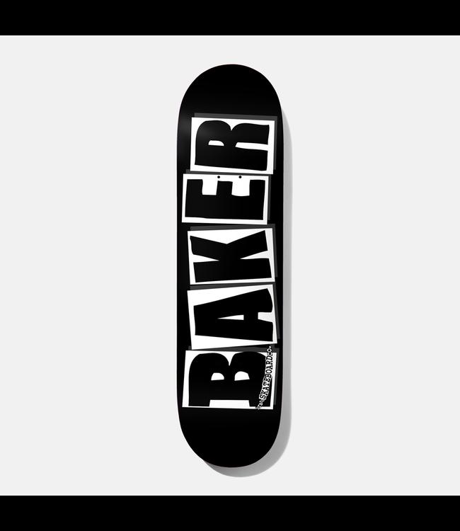 Baker   BRAND LOGO BLK/WHT 8.25