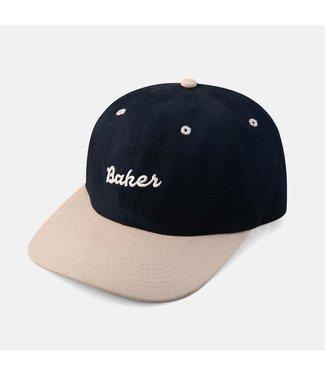 Baker Colfax snapback Blu/Tan