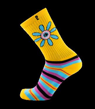 Psockadelic Socks  Floral Eye