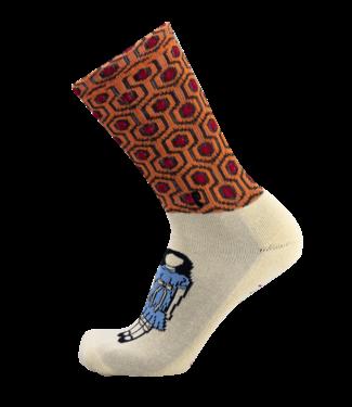 Psockadelic Socks  Redrum