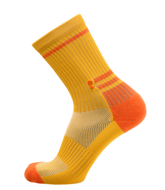 Psockadelic Socks  Ribbed Gold
