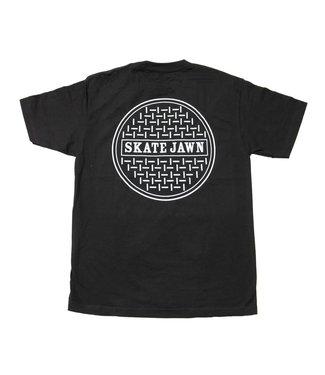 Skate Jawn Skate Jawn tee-  Sewer Cap-Black