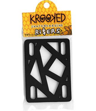 """Krooked Krooked Riser 1/4"""" black"""