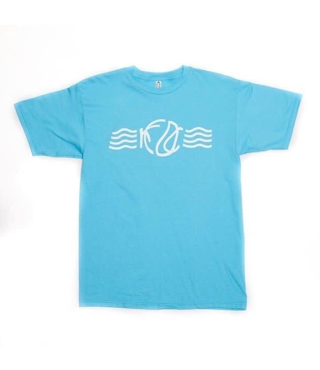 KCDC WAVE TEE BLUE
