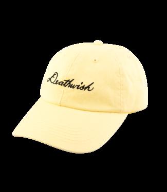 Deathwish Deathwish Script Canary Dad cap