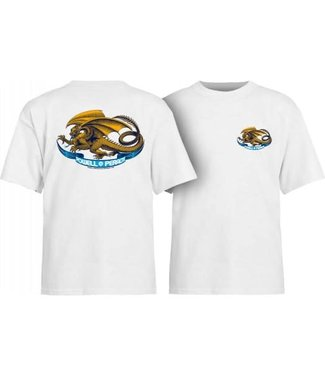 Powell Powell Peralta Oval Dragon Youth Tee White