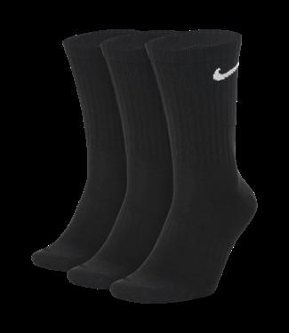 Nike Nike EVERYDAY LIGHTWEIGHT CREW  SOCKS 3 PACK SIZE LARGE  010